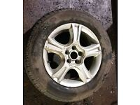 Seat Ibiza x4 Alloy Wheels & Tyres