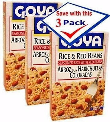 Goya Rice (Goya Red Beans and Rice 7 Oz - Pack of)