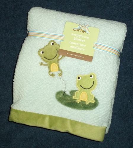 Frog Baby Blanket Ebay
