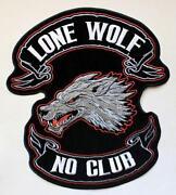 Aufnäher Wolf