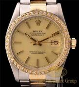 Mens Rolex Datejust Bezel