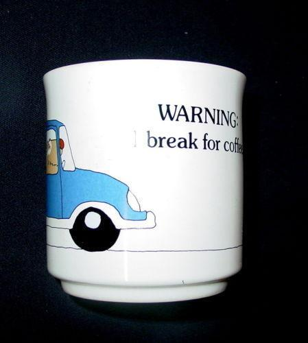 Kliban Cat Coffee Travel Mug