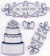 Cake Rubber Stamp