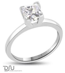 1 ct princess cut diamond rings