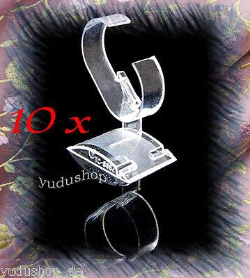 10 x Uhrenständer  Uhrenhalter  Uhrendisplay Acryl, 0,959€/Stk