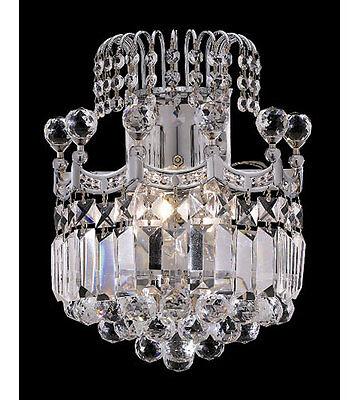 Palace Crown A 2 Light Crystal Wall Light C Precio Mayorista