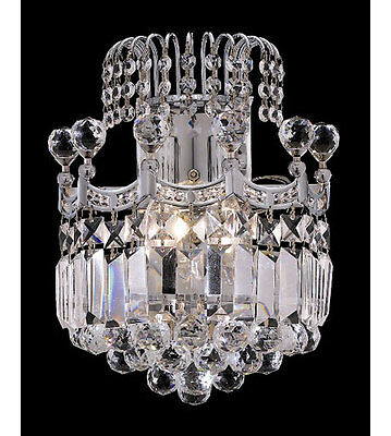 Palace Crown A 2 Light Crystal Wall Light C Precio Mayorista