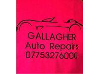 Mechanic, MOT prep, winter checks, servicing and diagnostics