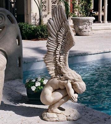 Angel Patio Statue Garden Sculpture Outdoor Yard ...