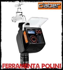 Claber 8483 centralina programmatore tempo logic per for Programmatore irrigazione a batteria claber