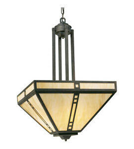 Weathered Bronze Hall & Foyer Ceiling Light