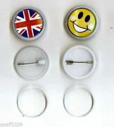 Blank Button Badges