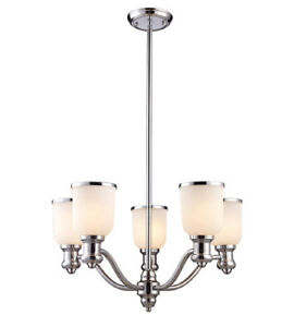 New 5 Light Chandelier ($630 retail) - Reasonable Offer Gets It