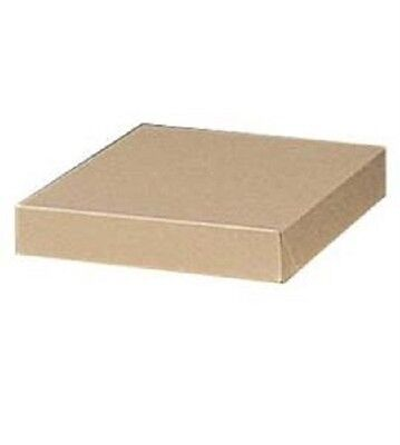 Boxes Gift 100 Kraft 10 X 7 X 1  Cardboard Small Lingerie Retail Store