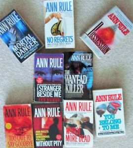ANN RULE == Paperback True Crime Collection