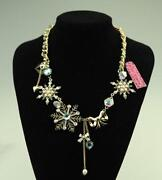 Betsey Johnson Snowflake