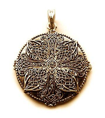 CELTIC AMULET 24ct Pendant Vintage Antique LARP Jewelry