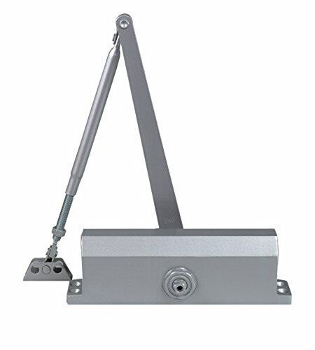 Cal-Royal 420 P Commercial Grade Door Closer Size 2 Spring Aluminum, New