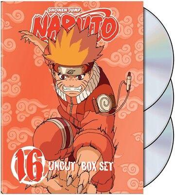 Naruto - Naruto Uncut Box Set 16 [New DVD] Full Frame, Boxed Set, Digipack Packa