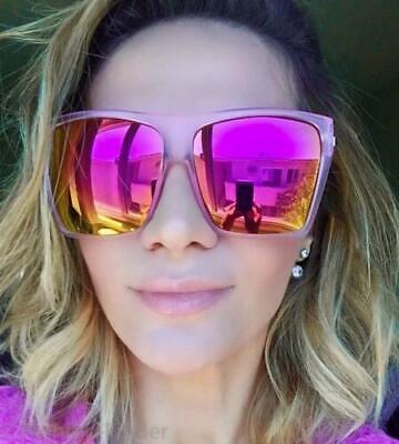Huge Oversized XXL COLOR Mirror Reflective Square Aviator Large HOT Sunglasses (Hot Sunglasses)