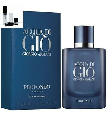 ARMANI Acqua DI Gio PROFONDO 2020 EDP - 2.5ml fragrance mini tester