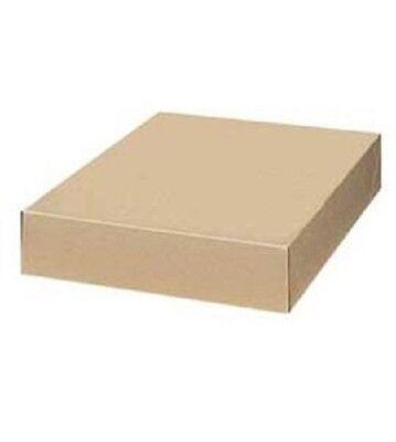 Boxes Gift 50 Kraft 17 X 11 X 2  Cardboard Retail Dresses Linens Sweatshirts