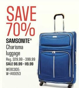 "BRAND NEW - Samsonite 21"" Carry-on Luggage"