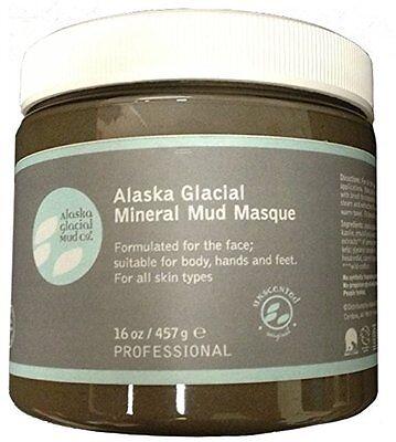 Alaska Glacial Mineral Mud Masque Anti-Aging Skin Softening Unscented 16oz