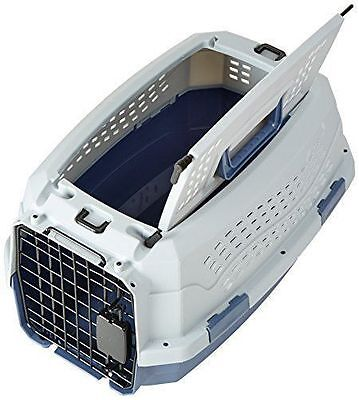 Portable Cage Travel Puppy Dog Cat Carrier Two Door Pets Kennel Safety NEW