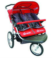 InStep Safari double jogging stroller bought last year