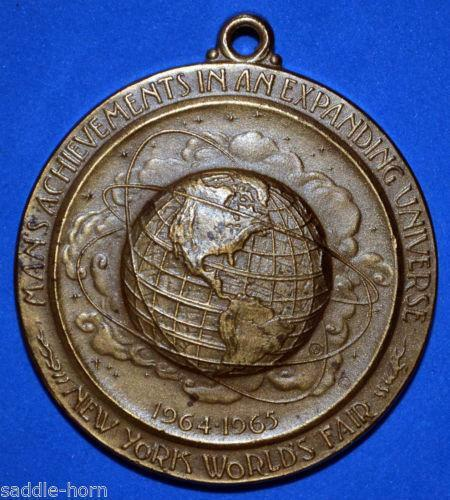 New York Worlds Fair Medal Ebay