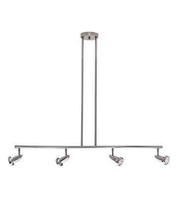 Access Lighting Bulb (Access Lighting 52224-BS Brushed Stainless 4 bulb Indoor Chandelier Light)