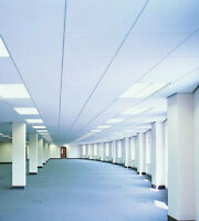 Ceiling, theatre black, 2x2 tiles, supplied and fitted $4sq/ft