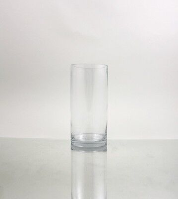 Buy cheap 5 x 12 Clear Glass Cylinder Hurricane Vase Candle Holder #O-VCY0512