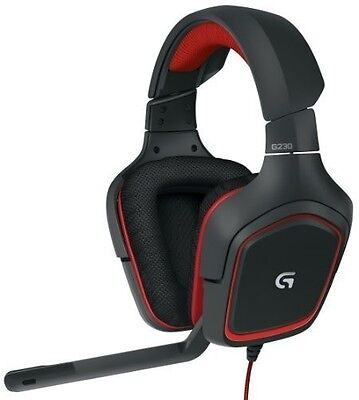 Logitech G230 Stereo Gaming Headset with Microphone