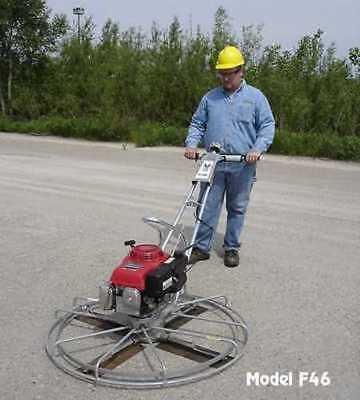 Master Power Trowel 5.5hp Honda 36 Concrete Cement Gas Arrow Quality Finisher