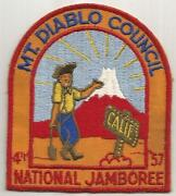Boy Scout Council Patches