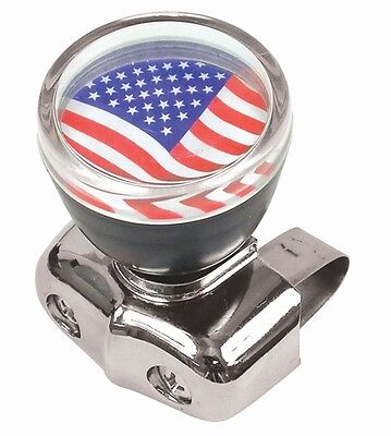 USA American Flag Steering Wheel Spinner Suicide Knob Handle for Car/Truck
