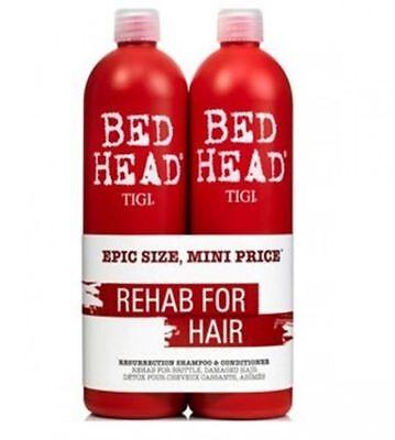 TIGI Bed Head Urban Antidotes Resurrection Shampoo Conditioner 2x750ml Tween Duo