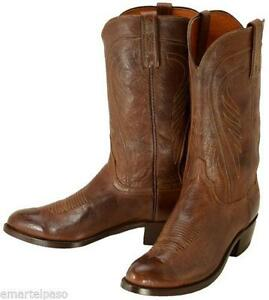 mens cowboy boots 10 lucchese used