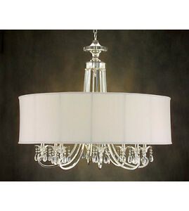 John Richard AJC-8455 8  light crystal chandelier