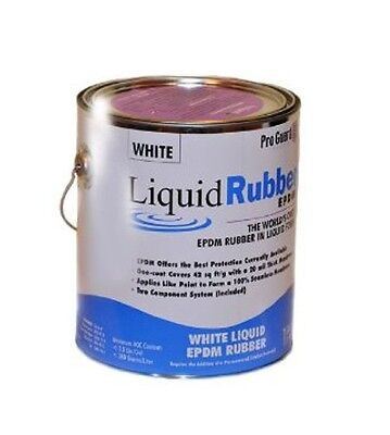 Liquid Rubber -Liquid EPDM coating -1 Gallon -for roof leaks, repair, sealing