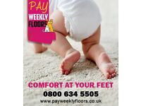 Pay Weekly Floors - £10 per week!