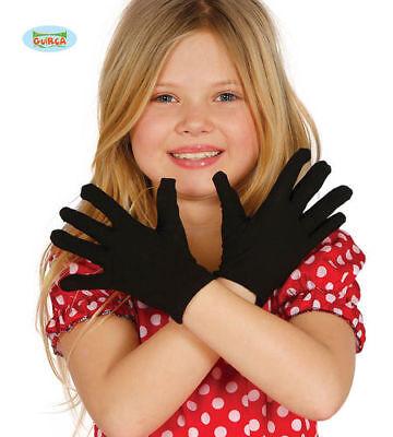 Kinder Handschuhe schwarz kinderhandschuhe kostüm
