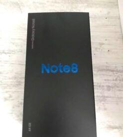 Samsung Galaxy Note 8 DUOS SM-N950F/DS - 64GB - Midnight Black Unlocked EU Note8