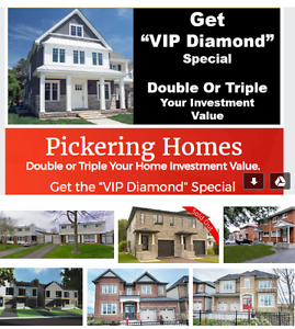 Pickering Homes Selling FAST! must have 15% to 20% Down Payment!