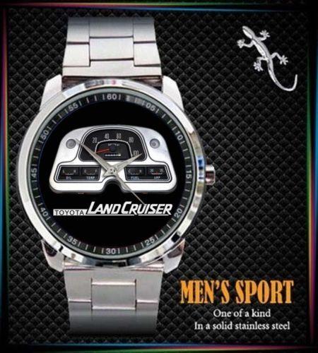 New 1982 Toyota Land Cruiser Fj 40 Watch Stainless Steel Watch