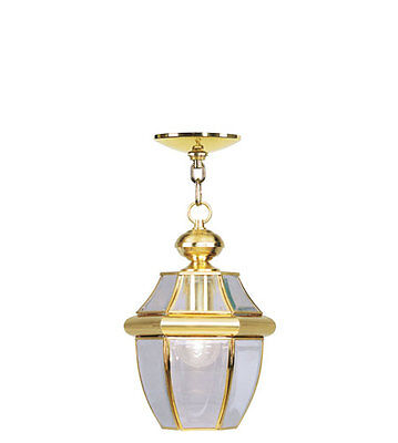 Polished Brass Outdoor Lighting Livex Exterior porch Light 2152-02 Monterey Lamp Monterey Traditional Chandelier