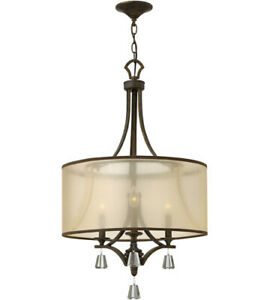 Bronze Chandelier Ceiling Light