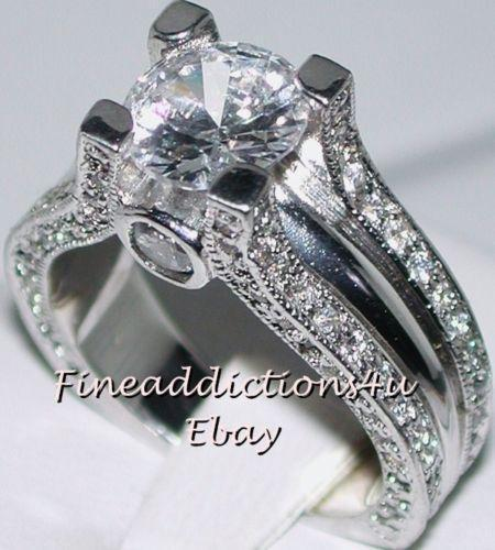 antique silver engagement rings ebay